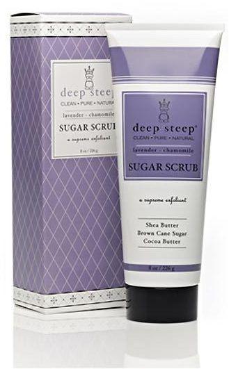 Deep Steep Lavender Chamomile Sugar Scrub