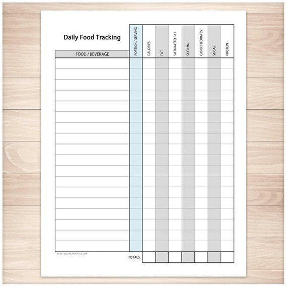 photo relating to Calorie Count Sheet Printable named Pin upon Solutions