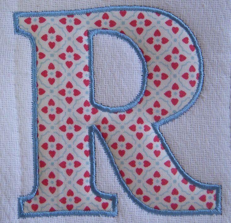 Lettering Templates For Quilting : 41 best images about appliqued letters on Pinterest Alphabet, Alphabet letters and Applique ...