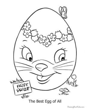 giant easter egg coloring page google
