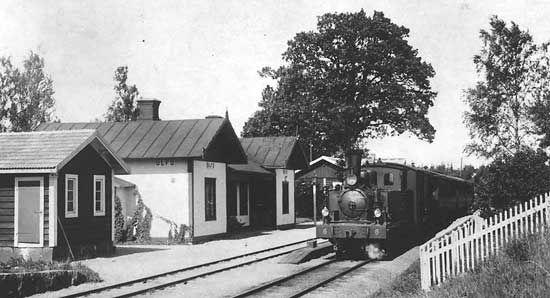 Ulfö station year 1930