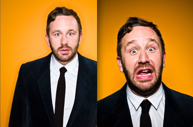 Chris O'Dowd, Irish comedian and actor  (IT Crowd \o/)