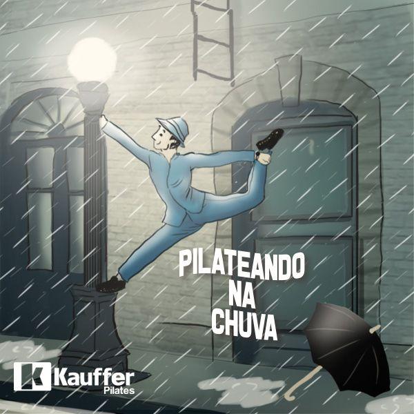 Pilates na chuva <3