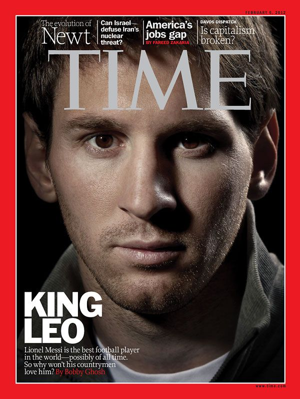 lionel messi is the best football player in the world