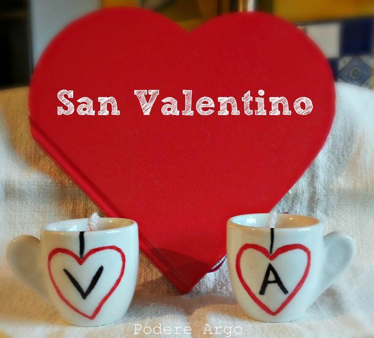 Tazzine portacandele riciclate e fai da te per San Valentino #diy #valentine #recycle #reuse