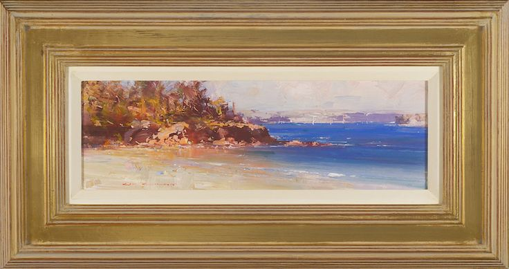 #14180 Ken Knight The Island of Balmoral 38cm x 72cm