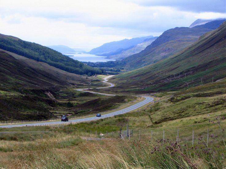 Loch Maree en la región de Wester Ross en las Higlands Tierras Altas de Escocia