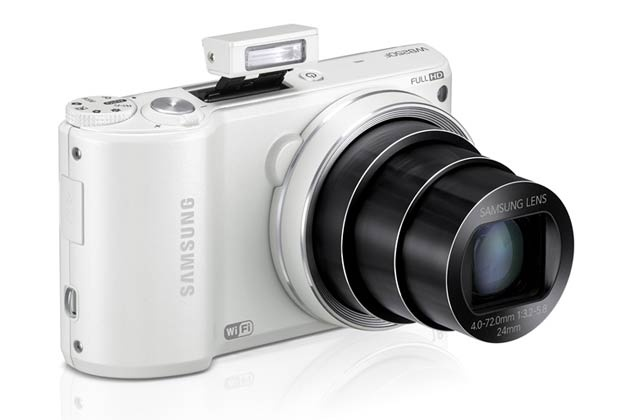 the samsung smart camera because it has amazing quality and cool features and I tried it at a store