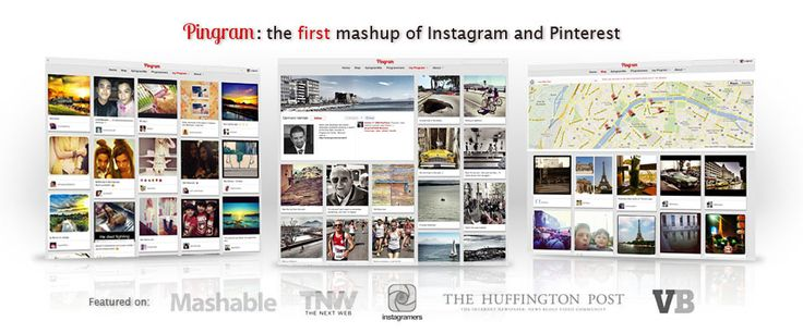 Pingram is the first mash-up of Instagram and Pinterest - Search Instagram photo Tag, Locations, Place and more...