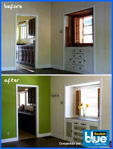 Mira como le da vida el color verde a una habitaci n con - Como pintar una habitacion ...