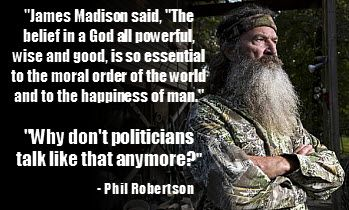 phil robertson quotes   Phil Robertson – A Duck of a Different Calling   Lady Patriots