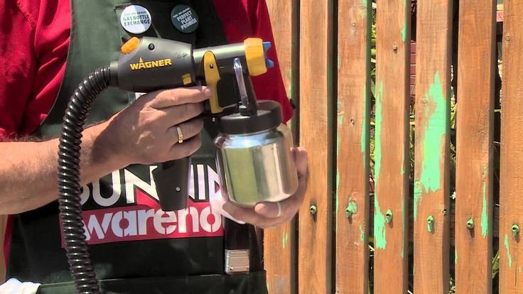 How to spray paint a picket fence diy at bunnings