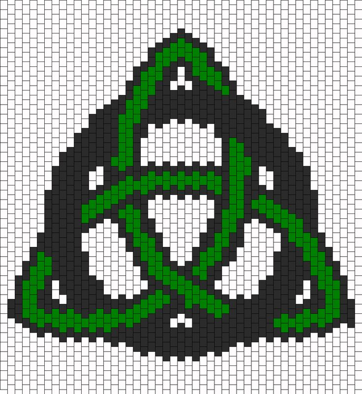 Trinity Celtic Knot bead pattern