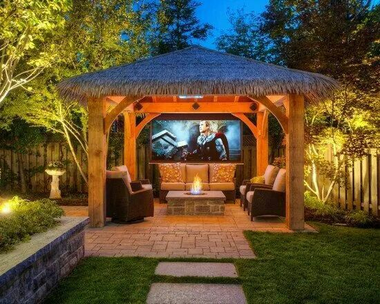 9 best gazebo images on pinterest | outdoor spaces, backyard ideas ... - Gazebo Patio Ideas