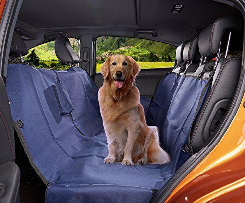 MEGA PET Non-Slip Waterproof Durable Pet Car Seat Cover with Side Flaps Protector For Dog