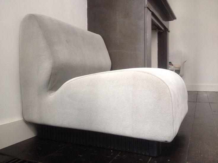 oude stoel opnieuw bekleed