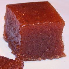 Dulce de membrillo con Thermomix