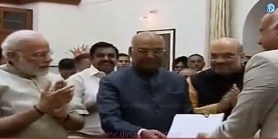 குடியரசுத் தலைவர் தேர்தல்: தேசிய ஜனநாயக கூட்டணி வேட்பாளர் ராம்நாத் கோவிந்த் வேட்புமனு தாக்கல் | Republican presidential election: National Democratic Alliance candidate Ramnath Govind nominated   டெல்லி: குடியரசுத் தலைவர் தேர்தலில் தேசிய ஜனநாயக கூ�... Check more at http://tamil.swengen.com/%e0%ae%95%e0%af%81%e0%ae%9f%e0%ae%bf%e0%ae%af%e0%ae%b0%e0%ae%9a%e0%af%81%e0%ae%a4%e0%af%8d-%e0%ae%a4%e0%ae%b2%e0%af%88%e0%ae%b5%e0%ae%b0%e0%af%8d-%e0%ae%a4%e0%af%87%e0%ae%b0%e0%af%8d%e0%ae%a4-24/