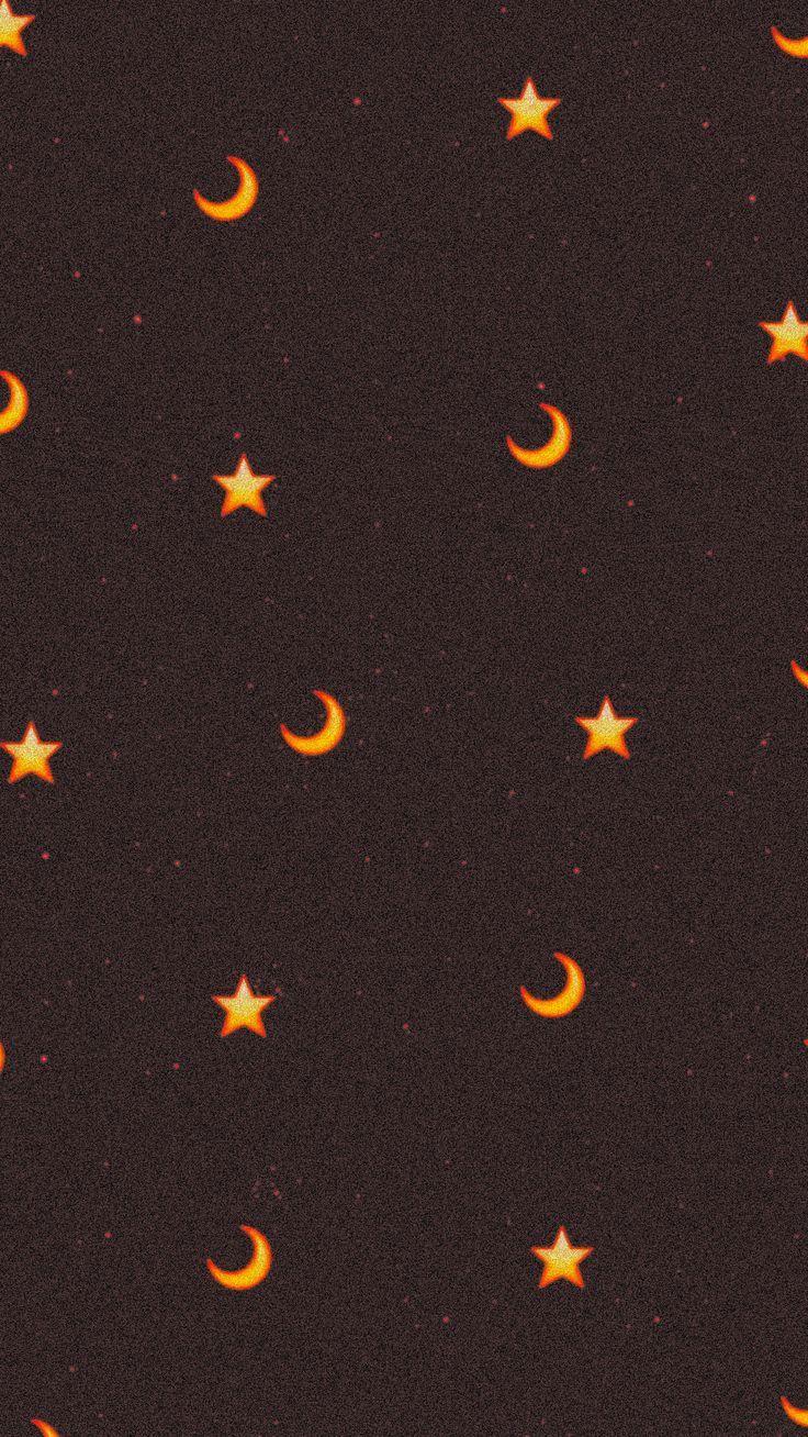 fond d'écran huawei Moon And Star Wallpaper  #décran #fond #huawei #Moon #Star #Wallpaper