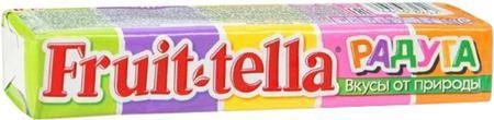 Fruittella «Радуга» 42,5 г  — 39р. ----------------------------- Жевательная конфета Fruittella Радуга 42,5 г. Пять фруктовых вкусов в одной упаковке - каждый в своем природном цвете! Fruittella – это вкусно, весело и полезно! При производстве Fruittella используются только натуральные красители, полученные из растений и фруктов. Ассорти жевательных конфет со вкусами: яблока, черной смородины, клубники, апельсина и банана, содержащих натуральные соки и красители. Особенности:  Натуральные…