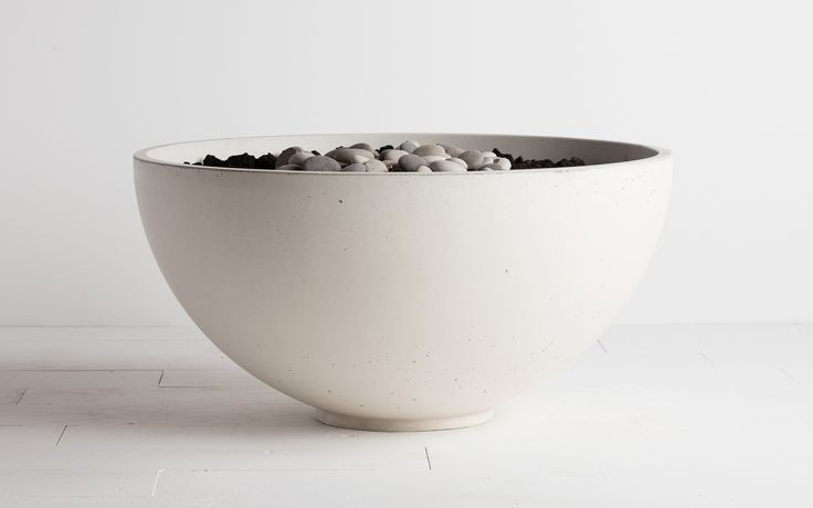 Hemi fire bowl by Solus Decor in ten beautiful colours with a variety of burner options including natural gas , propane and bio fuel,Price £3560.