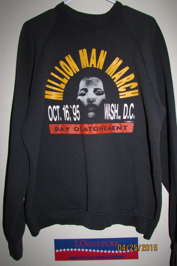 Million Man March Day of Atonement T Shirt October 16 by LOculture
