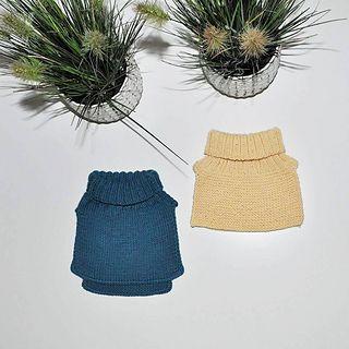 Varm og god vinterhals til barn fra ca 1 til 10 år. Den er enkel og kjappstrikket.