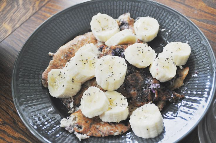 Blog post: Gluten-, lactose- and sugar-free blueberry and vanilla pancakes