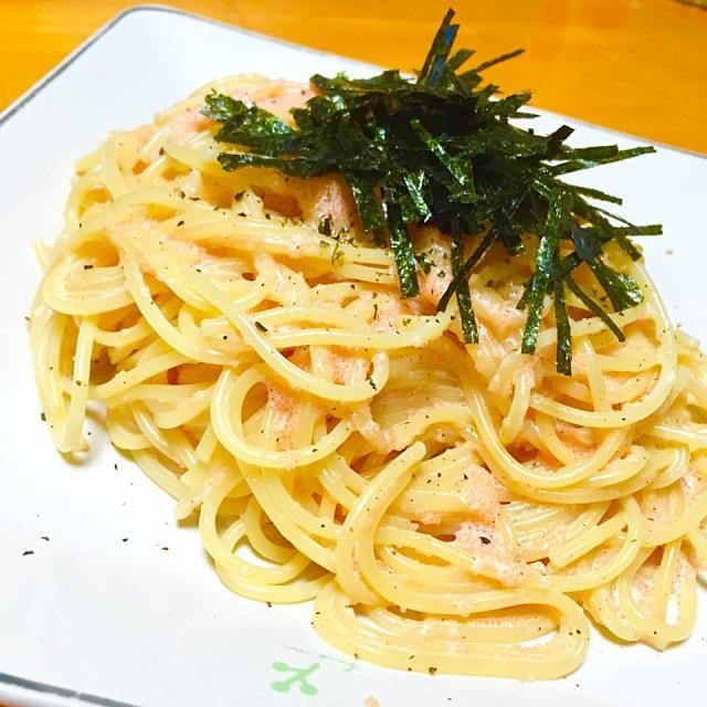 主人の晩御飯には、たらこスパゲティーを - 29件のもぐもぐ - 和風たらこクリームスパゲティ by fighterscurry