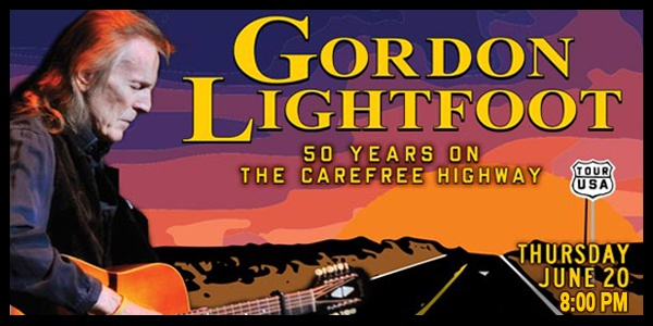 Gordon Lightfoot in South Bend,IN.  What a show this will be