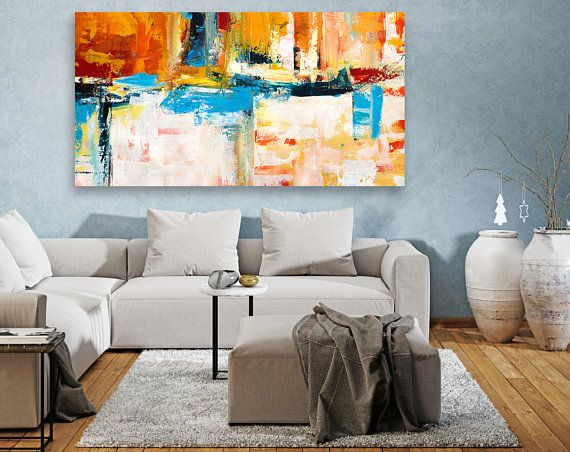 Original Large Abstract Painting,Extra Large Wall Art ,Modern Home