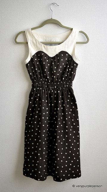 Leia Dress, pattern by Tamanegi-Kobo