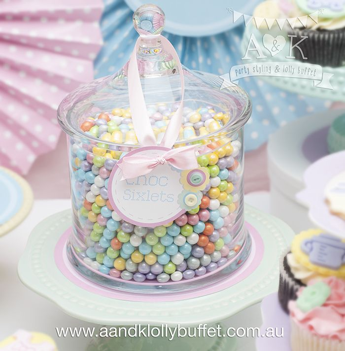 http://aandklollybuffet.com.au/pastel-cute-as-a-button-baby-shower/
