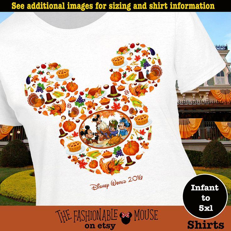 Mickey Thanksgiving Shirt, Disney Thanksgiving Shirt, Mickey Turkey Shirt, Minnie Turkey Shirt, Mickey Turkey Tank, Minnie Turkey Tank by TheFashionableMouse on Etsy
