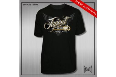 TapouT Loyalty T-Shirt + Free Sample Price: WAS £29.99 NOW £21.00