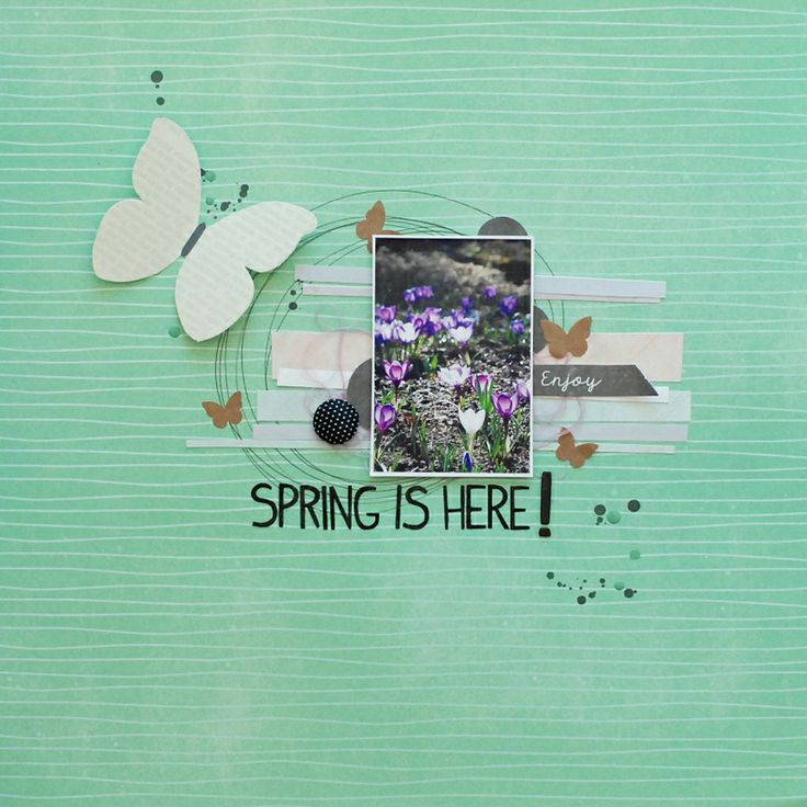 made for DT scrapki.pl: http://www.scrapkipl.blogspot.com/2014/04/powitanie-wiosny-w-gorach.html