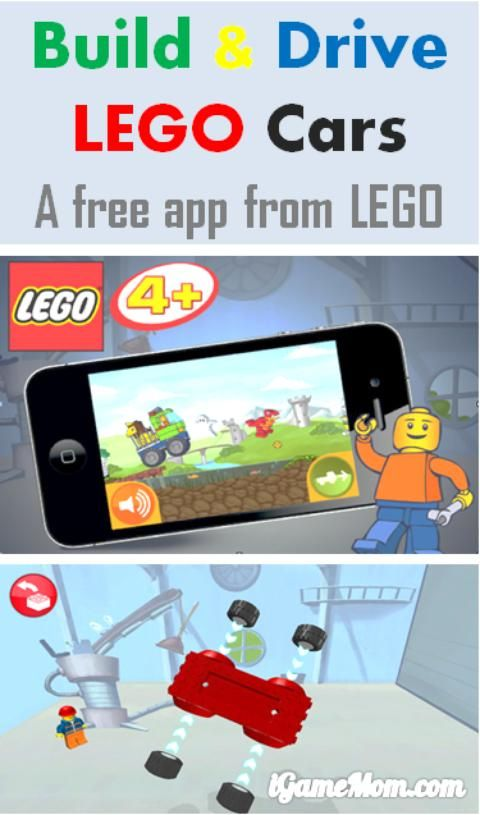 A free LEGO app for kids from preschool to school age to build and drive their own cars, and to earn LEGO pieces to build more LEGO.