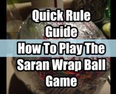 how to play saran wrap