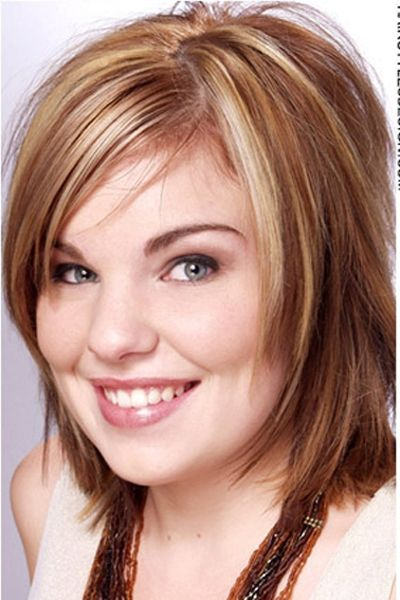 layered medium haircuts for hair feminine feathered cut with platinum highlights hair 6167