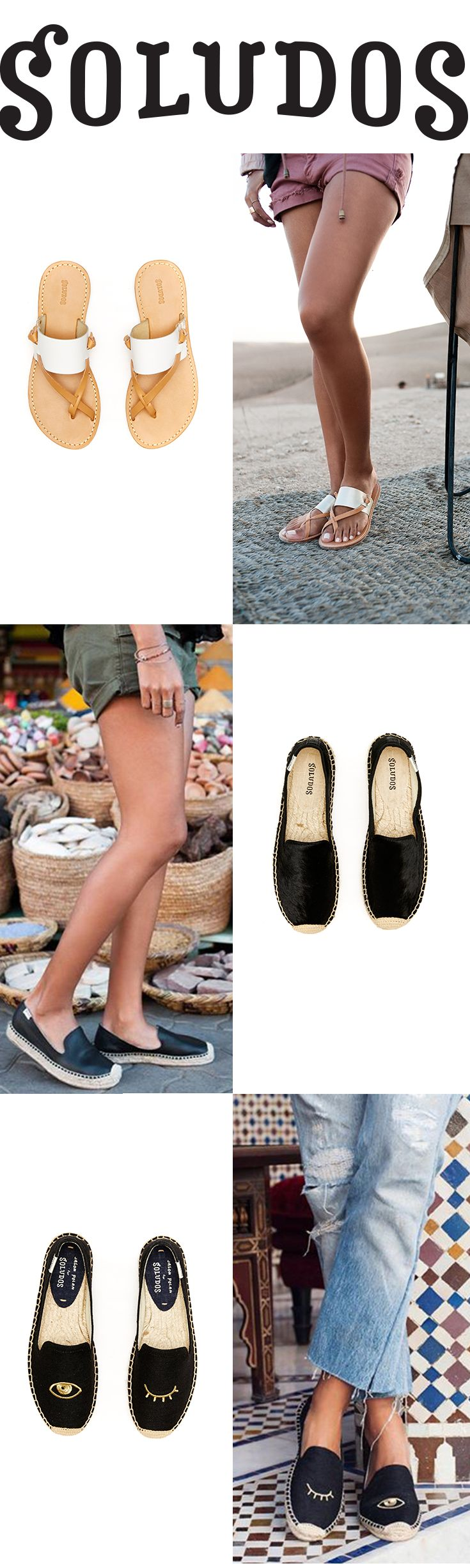 Sandals or Slip-ons? How do you Soludos?