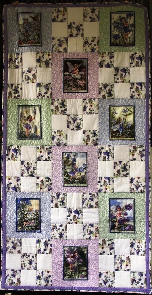 43 Best Fairy Quilts Images On Pinterest Flower Fairies