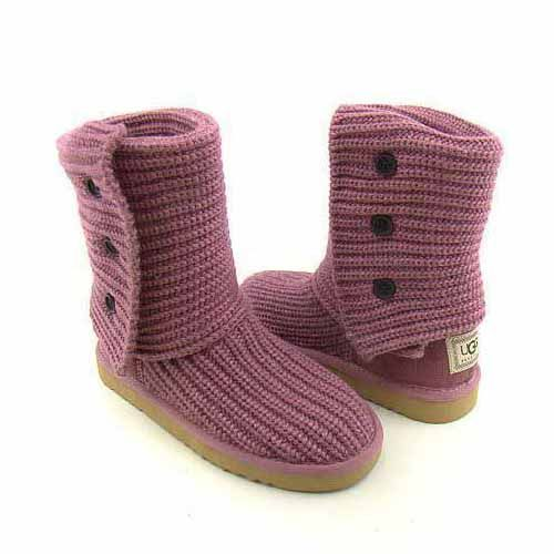 UGG Classic Cardy Boots 5819 Pink $88.59