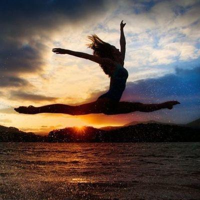 19. Do a gymnastics trick at a beach at sunset (and photograph!)