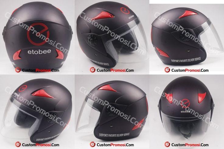 "Helm Promosi Pesanan ""ETOBEE"" Info Harga Hubungi +6281287068190"