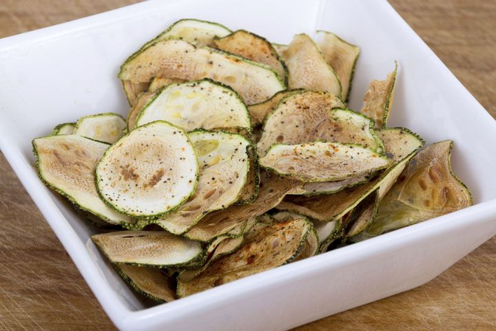 Jorge Cruise's BBQ Zucchini Chips: The spices in this recipe are anti-inflammatory and have no calories.