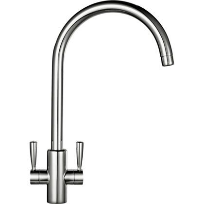 Franke Ascona Tap - Silk Steel at Homebase -- Be inspired and make your house a home. Buy now.