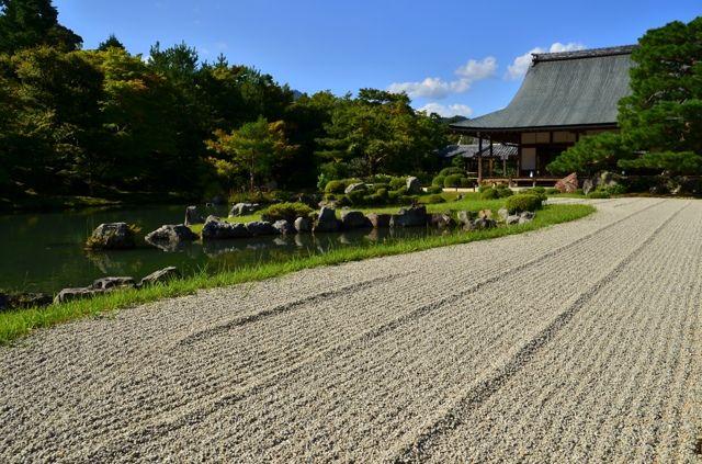 NIKON(ニコン)のカメラ NIKON D7000で撮影した風景(天龍寺 曹源池庭園1)の写真(画像)