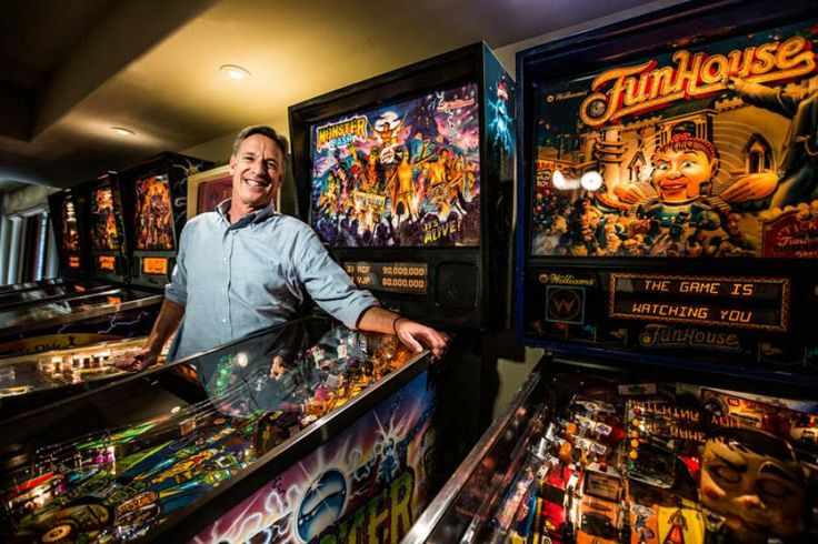 Steve Luczo, CEO of Seagate Technology shows off his amazing pinball collection in ForbesLife.