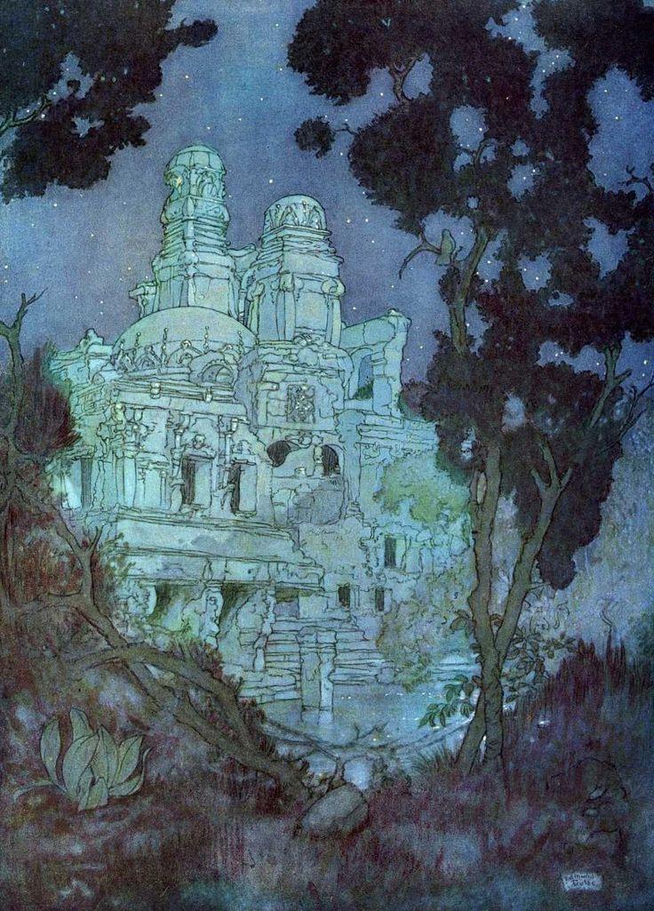 The Rubaiyat - Edmund Dulac