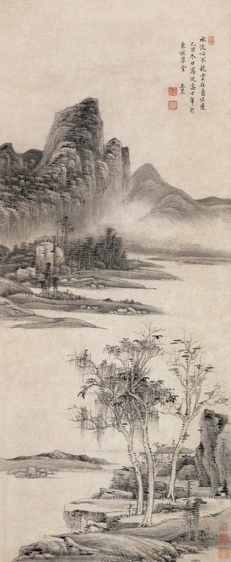 20paintings fishing jpg chinese peasant paintings pinterest -  1729 Chinese Landscape Paintingchinese